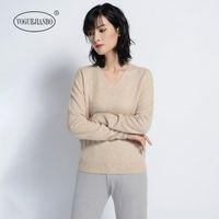 Suéteres para mujer Suéter de cachemira Mujer 100% Puro Invierno Pullover Slim Slim Drill Jersey Mujer Invierno Taovk