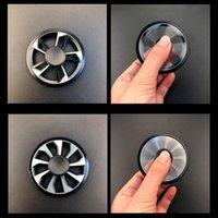 Spinner Spinner Spinner Zinc Alliage Métal Gyro Fidget Toys Toys Spinning Top Décompression Anxiété