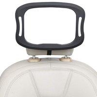 아기 자동차 거울 원격 제어 부드러운 LED 야간 조명 뷰 후면 뒷좌석, 안전 부서진 방지 프레임, 360 ° 다른 인터페이스