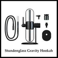 Stundenglass Gravity Hookah E Cigarette Kits Water Pipes Recycler Bong Smoking Pipefor Tobacco Dry Herb Oil Vape Pen