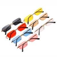 Sunglasses Polarized Lightweight Frameless Sun Protection Special Glasses For Women Men J55