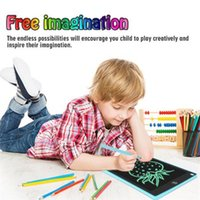 """NEWYES Drawing Tablet 8.5"""" LCD Writing Tablet Electronics Graphic Board Ultra-thin Portable Handwriting Pads with Pen Kids Gifts 20pcs"""