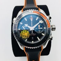 OE 600 meters men's professional diving table watch diameter 45.5 mm with running seconds timing automatic machinery equipped sta