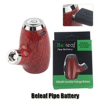 Authentic Beleaf Pipe Battery Kit 900mAh Preheating VV Variable Voltage Vape Mod Vaporizer For 510 Thick Oil Cartridge Genuine