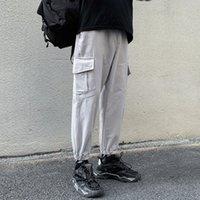 Chaud New Streetwear Hommes Cargo Pantalon Hop Hop Pure Coton Casual Homme Pantalon Pantalon Joggers Pantalon Mode Harajuku Hommes Pants