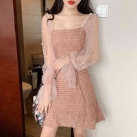 Heydress spring Beauty Charming Sweetheart long Sleeve Tulle Short Dresses Sexy Party Prom Gowns Vestidos De Gala 210426