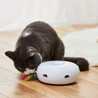 HOMERUN DONUT Intelligent Automatic Cat Catcher электрические перья