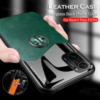 For Xiaomi Mi 11i 5G Case Car Magnetic Holder Ring Leather Back Phone Cover On Xiomi 11 i Mi11i Silicone Shockproof Bumper Coque