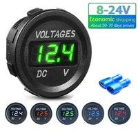 ROXGOCT D1 Oltage Meter Tester LED Display per auto Auto Moto DC 5V-48V Mini Digital Voltmeter Ammeter