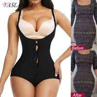 النساء ملابس داخلية ارتداءها البطن السيطرة كامل الجسم المشكل التخسيس داخلية اللاتكس العرق الدهون الموقد الخصر المدرب bodybriefer