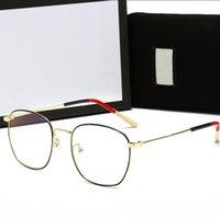 Lunettes de soleil Femmes Designer Femmes design Femmes Gold Gold Cadre carré Femmes Soleil lunettes Polarized Lunettes avec étui 5 couleurs en option