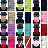 Solid color Headband autumn and winter party masks protection magic scarf warm sports riding elastic Halloween mask ZC438-H
