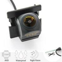 Car Rear View Cameras& Parking Sensors AHD 1280*720P Vehicle Camera For 2 2021 5 Door Hatchback Reversing Backup Mirror LCD Monitor