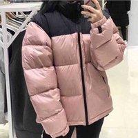 Женские Parkas Winter пиджак открытый женщин мода классический повседневный теплый бессековый вышивка молнии топы пальто