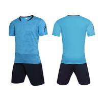 2018 nuevos conjuntos de fútbol de Survetement Men Jerseys de fútbol conjuntos de fútbol traje de entrenamiento para hombres Kit de camisetas de fútbol M-4XL