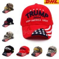 Trump Hat 2024 U.S Presidential Election Cap Baseball Caps Adjustable Speed Rebound Cotton Sports Hats Wholesale