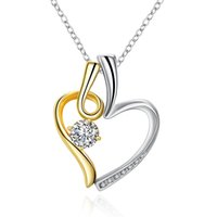 Akn063 akn063, wholesaler of fashion K gold waixin color separation Necklace accessories