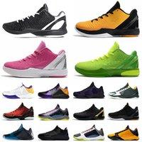 Sapato Nike Kobe 6 Protro Mamba Zoom 5 Tênis de basquete masculino Mambacita Big Stage Blackout Chaos Dark Knight Eybl Purple Lakers What If Rings Sapatilhas de tênis esportivas
