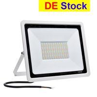 DEストック屋外の照明LEDのフラッドライト3色の色温度調節可能IP65 110V / 220V 50W 100W 100Wは中庭のガーデンガレージに適用されます