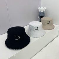 Luksusowy projektanci wiadro kapelusz męskie i damskie lato słońce kapelusze turystyki na zewnątrz turystyka plażowa Cap Party Tide Caps