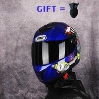 Motorcycle Helmets Free Mask Full Face Double Lens Visor Electric Bike Helmet Men Women Summer Scooter Motorbike Off Road