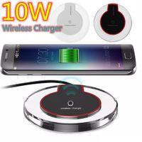 10W 5W K9 QI Sans Wireless Fast Chargeur de téléphone Chargeur Tapis de chargeur pour iPhone Samsung S10 S20 S21