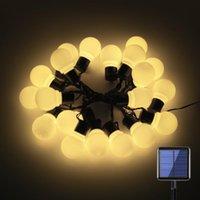 سلاسل 20 LED لمبات الشمسية مدعوم مصباح سلسلة أضواء عطلة المنزل ستارة المنزل حديقة عيد الميلاد حزب الذكرى عيد الميلاد الديكور