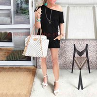 New Women Off Shoulder Jumpsuit Pants Club Sexy Casual Loose Solid One Shoulder Short Sleeve Party Ladies Rompers Playsuit LJJA2676