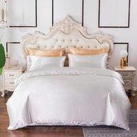 Bedding Sets 2021 Pure Color Quilt Set Home Textile Duvet Cover Fashion Simple Light Luxury Large King Bed Sheet