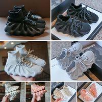 KAN 450 Çizmeler Çocuk Erkek Kadın Ayakkabı Koyu Kayrak Bulut Beyaz Erkek Bayan Eğitmenler Spor Sneakers Boyutu 24-35