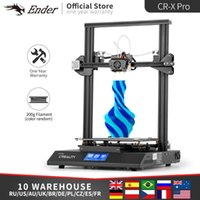 CR-X PRO 3D Printer Silent Mother Board Dual Color BL Touch Meanwell Power Supply And 2kg PLA Filament CREALITY Printers