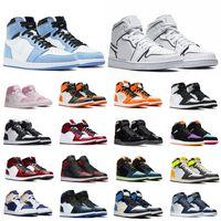 Neon 4 4S Manbasketballshoes 1 1s ضوء الدخان الرمادي الجامعة الأزرق 5 ثانية أوريغون البط المرأة 11 ثانية 25 الذكرى حذاء رياضة الرياضة