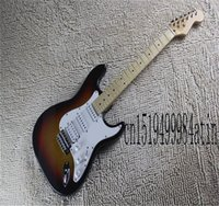 Factory Arrival F stratocaster Electric Guitar 3 Pickups Custom Body In Stock