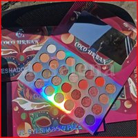 Cocourban Crazy Party Maske Matte Lidschatten-Palette Schimmer Glitter Lidschatten Pulver 28 Farbe langlebige Schatten Paletten