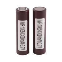 100 قطع 100٪ جودة عالية ل LG HG2 18650 البطارية 3000mAh IMR 3.7 فولت ل LG سوني سامسونج e cig القابلة لإعادة الشحن ليثيوم 18650 بطاريات خلية
