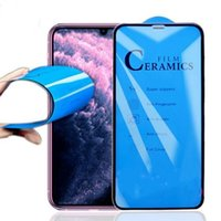 without package Ceramics Screen Protector Soft Film 9H Full Cover for iPhone 11 12 pro max XS XR X 8 7 Plus 6SP Not Tempered Glass