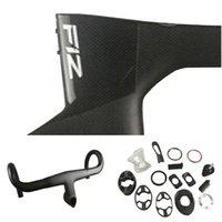 BoB Black on Black T1100 1K Direct Mount Brakes F12 Carbon Road Frames Bicycle Disk Frameset with Talon Handlebar 42 44 46.5 50 51.5 53 54 55 56 57.5 59.5cm for Your Selection