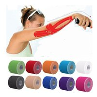 Kinesio cinta muscular vendaje deportes kinesiology rollo elástico adhesivo de cepa adhesivo adhesivo kka4434