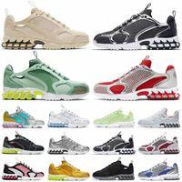 Moda Spiridon Kafesli Rahat Ayakkabılar Metalik Gümüş Limon Venom Antep Fıstığı Don Pisti Takım Kırmızı Bayan Erkek Eğitmenler Eğlence Spor Sneakers