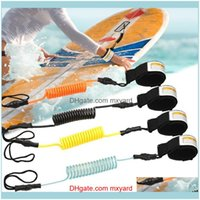 Rafts Inflatable Boats Paddling Water Sports & Outdoorssurfing Kayak Leash Rope Surfboard Boat Elastic Rotatable Retractable Coiled Spring S