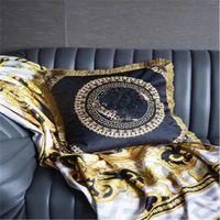 Europäischer Stil Luxus Quaste Kissen Home Kissenbezug Büro KTV Sofa Modell Zimmer Auto Dekorativencushion
