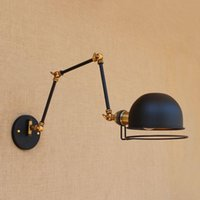Swing Long Arm Vintage Wall Lamp Adjustable Up Down LED Edison Loft Style Industrial Sconce Lights Appliques Pared Lamps