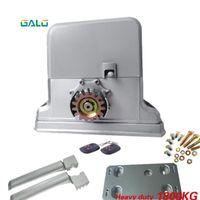 GALO Sliding Gate Operator and Rolling / Sliding Opener für Home Automation Industrial Gate-1800kg Nicht rostige Fingerabdruck-Zugangskontrolle