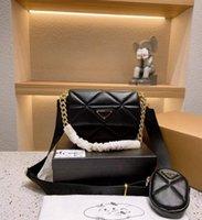ggzlvzlouis ... Vitton YSL ... Vutton 디자이너 가방 2 피스 세트 여성 핸드백 Luxurys Womens 겨드랑이 체인 작은 사각형 메신저 토트 패션 조정 가능