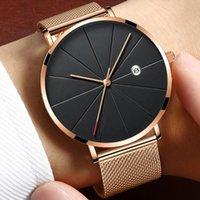 럭셔리 남성 및 여성 시계 디자이너 브랜드 시계 몬트레스 울트라 - 벌금은 FEMMES, Montre-Bracelet de Luxe en 또는 Rose, Tendance