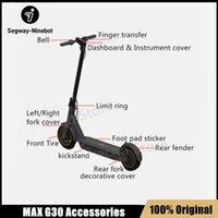 Оригинальный Kickscooter Ninebot Max G30 Комплект Комплект Комплект Контроллер Приборная панель Зарядное колесо Вилка Электрическое тормозное Тормозное Зарядное устройство