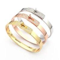 Gold bracelet for women fashion bangle design jewelry charm diamond tennis custom cuff silver friendship band good friend bracelets designer jewellery