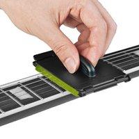 1pc elektrische gitaar bas snaren scrubber fingerboard wrijven reiniging tool onderhoudszorg bas reiniger gitaar accessoires