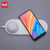 Original Yeelight Wireless Fast Charger Phone Quick Charge Magnetic Attraction LED Night Light for Iphone X Samsung