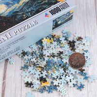 Puzzles Brain Jeu Multiple Styles Mini Image 1000 Morceaux Ensemble de bois pour adultes Enfants Jeux En Enfants Jouets Éducatifs